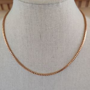 Vintage gold Amway Necklace